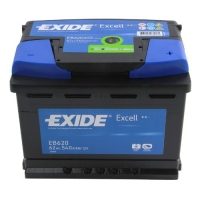 01. Batterie Exide Excell 62Ah