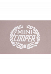 Cooper Decal weiss
